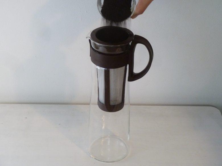 アイスコーヒー作り方1