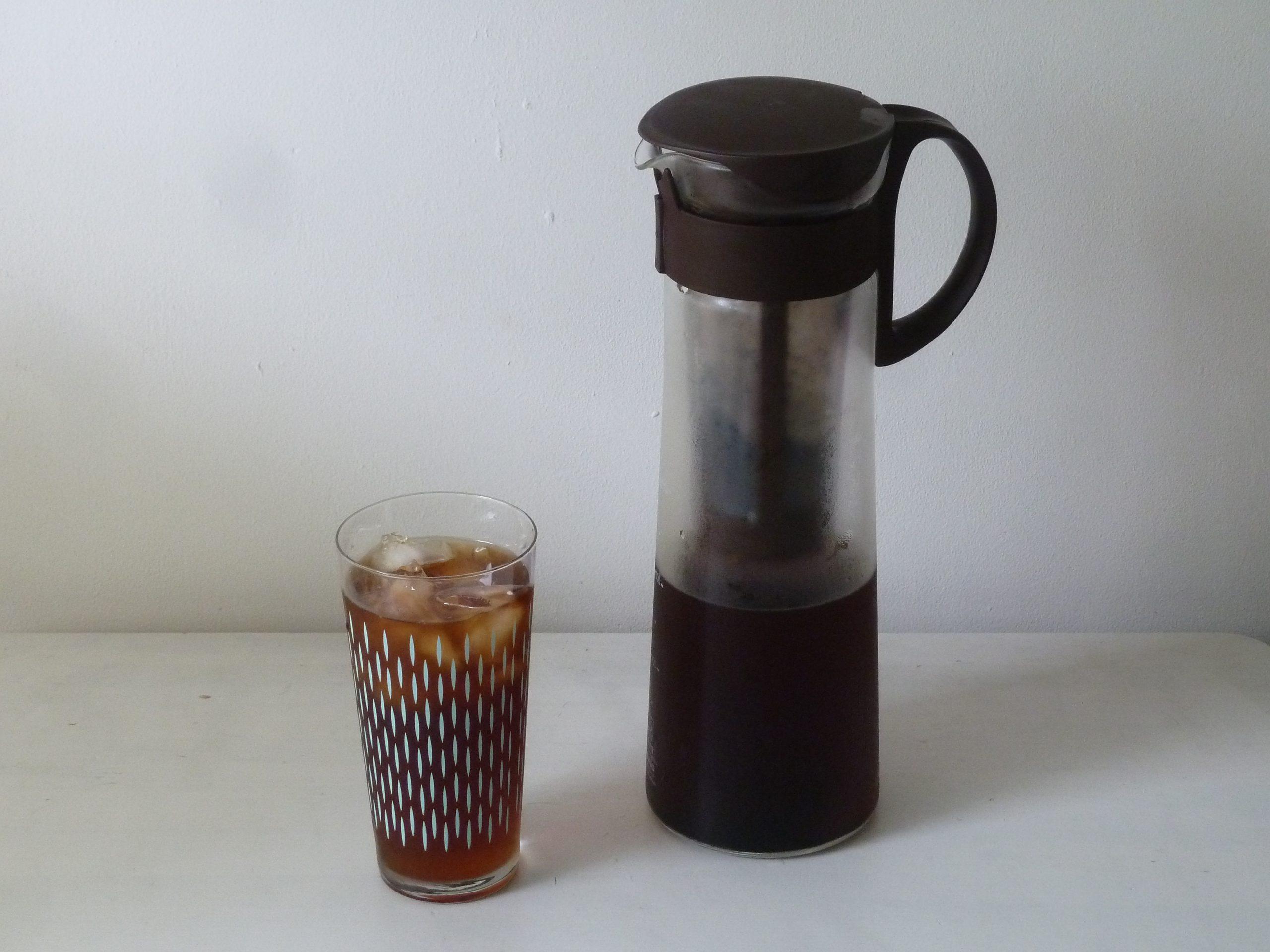 水出しアイスコーヒー出来上がり