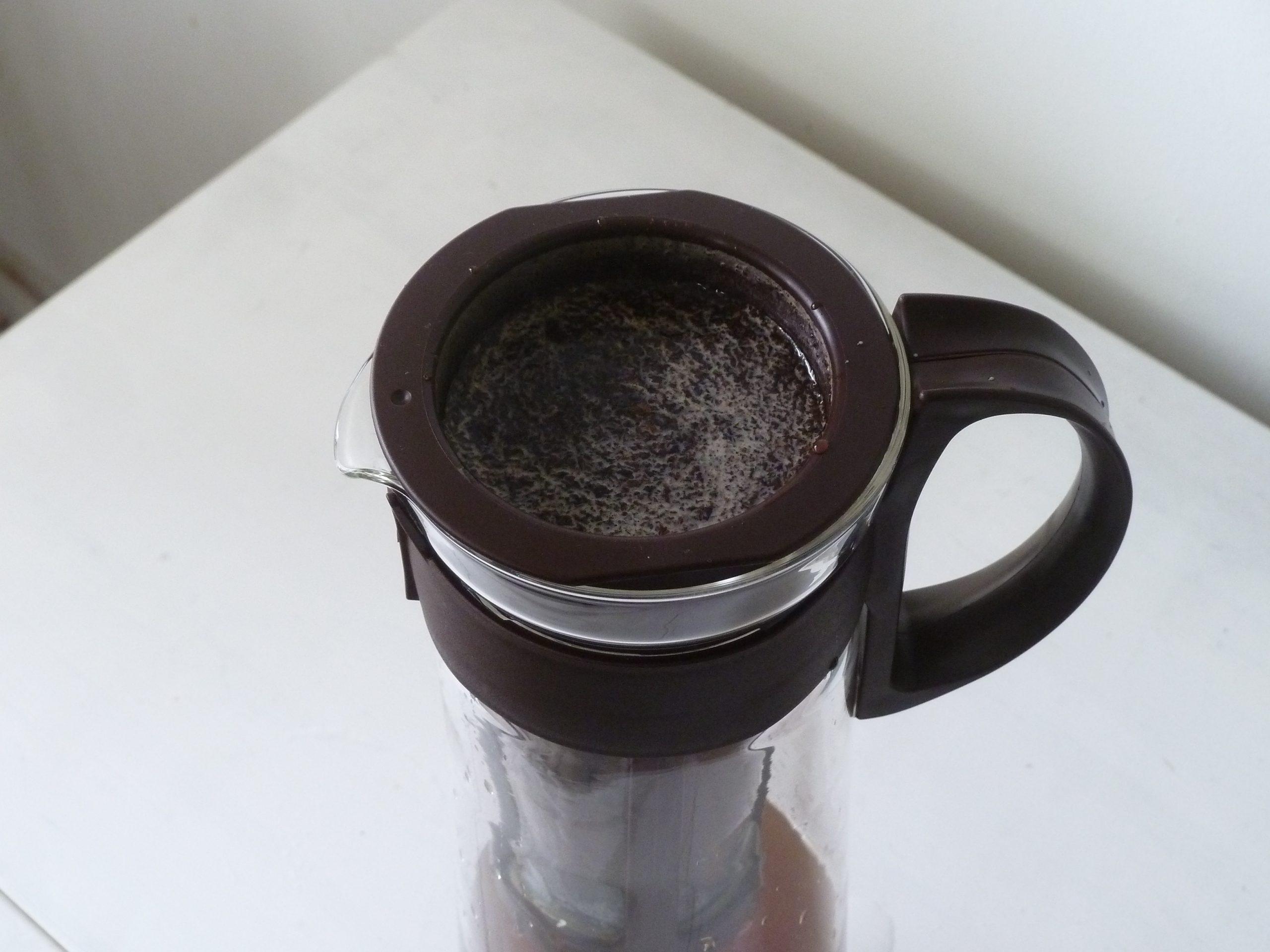 コーヒー抽出中