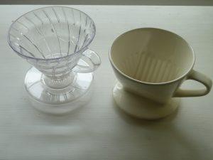 コーヒーのドリッパー