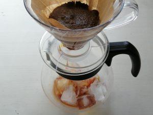 急冷法アイスコーヒー作り方
