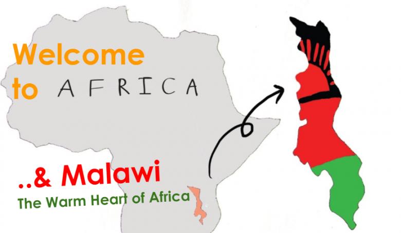 マラウイ地図イメージ