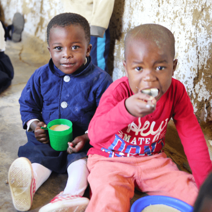 マラウイへの給食寄付